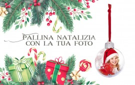 Pallina Natalizia con la...