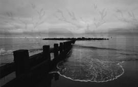 Spiaggia Aberdeen in bianco...