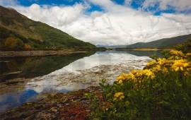 Paesaggio lago Scozia