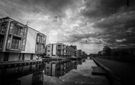 Edimburgo in bianco e nero