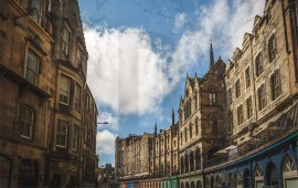 Edimburgo Diagon Alley
