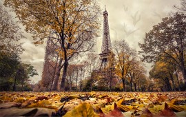 Tour Eiffel in autunno